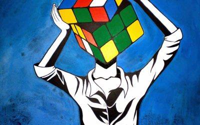 A vida e esse eterno cubo mágico em resolução