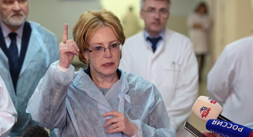 Вероника Скворцова и врачи