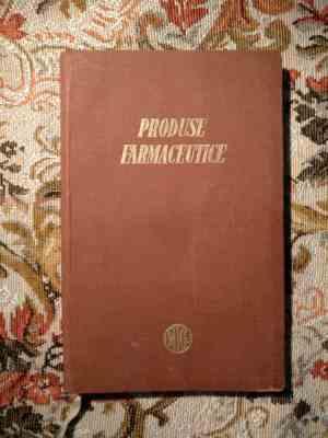 Produse farmaceutice - ministerul industriei chimice 1956-1957 11