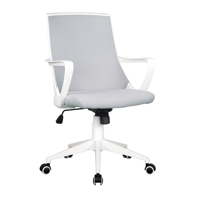 Office Swivel Chair Grey White 0722m 2240