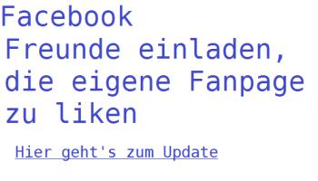 """facebook : so ladest du freunde ein, deine seite mit """" gefällt mir, Einladung"""