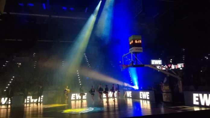 Mediennerd beim Basketball bei den EWE Baskets Oldenburg