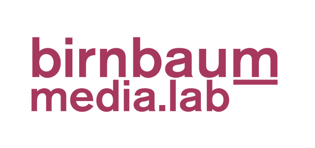 Logo birnbaum media.lab