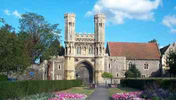 Great Gate of St. Augustine's Abbey