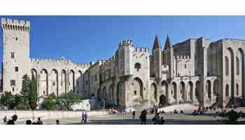 The Palais des Papes in Avignon by Jean-Marc Rosier