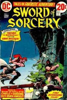 Sword of Sorcery series, written by Denny O'Neil, featuring art by Howard Chaykin, Walt Simonson and Jim Starlin (1973)