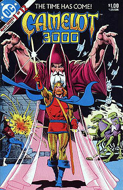 Camelot 3000 series (DC Comics), by Mike Barr, Brian Bolland, Bruce Patterson, Terry Austin and Tatjana Wood (1982-1985)
