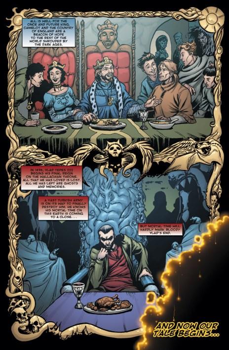 Dracula vs. King Arthur, by Adam Beranek, Christian Beranek, Jay Fotos and Chris Moreno (2005-present)