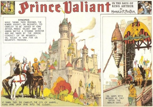 Prince Valiant, by Hal Foster (1937)
