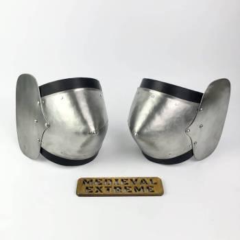 Riveted elbow cops pair