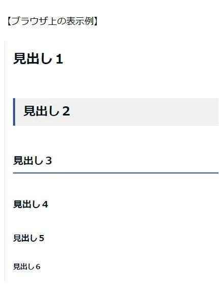 hタグマークアップ例