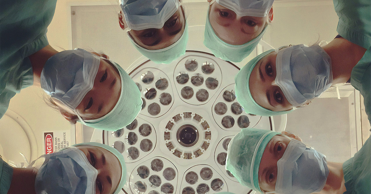 Group of doctors working in hospital. MEDIjobs