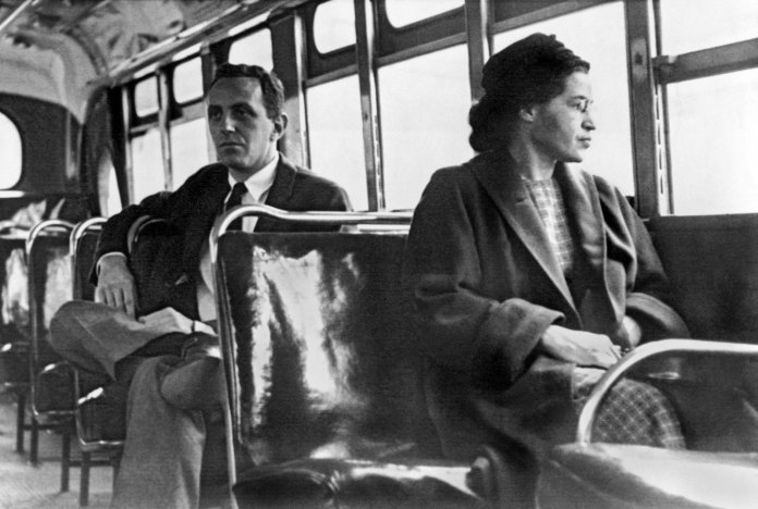 Rosa-Parks-bus-Montgomery-Alabama-1956