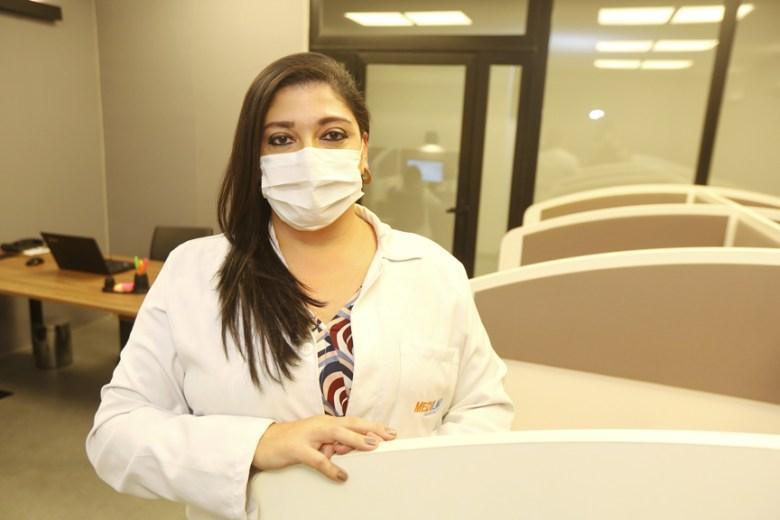 Dra. Clarissa di Primio, Gerente Médica do Call Center da Medilar.