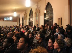 The event was organized by IIRON and The People's Lobby, two local grassroots organizations, and included speakers from the National People's Action, the nonprofit SOUL and the Sierra Club.