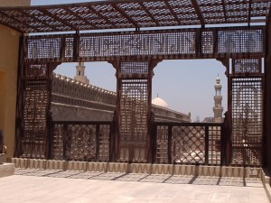 View of the Mosque of Ahmad b. Tulun in Cairo Image