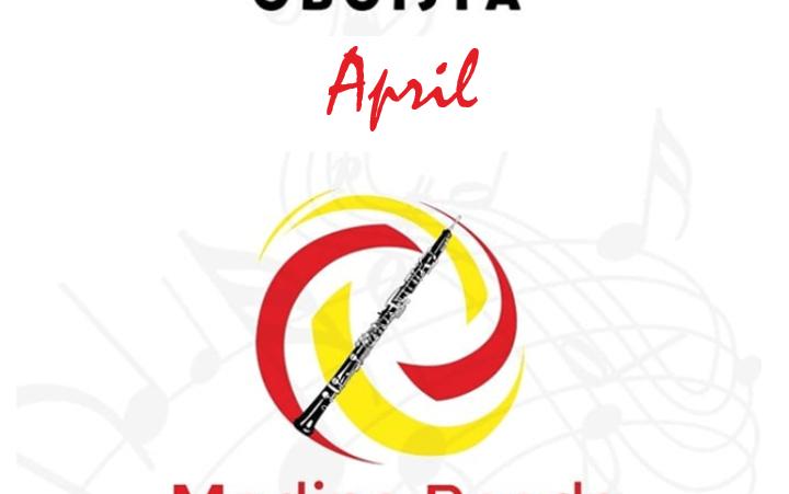 Agenda oboísta abril
