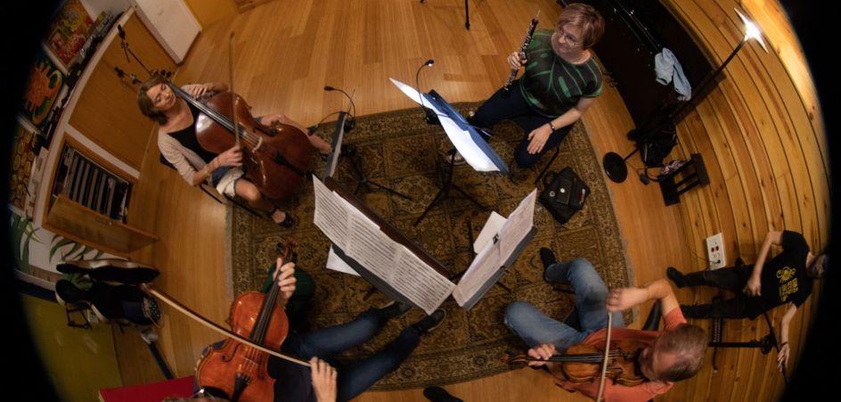 Cuarteto-Emispherio.-Torres-grabación