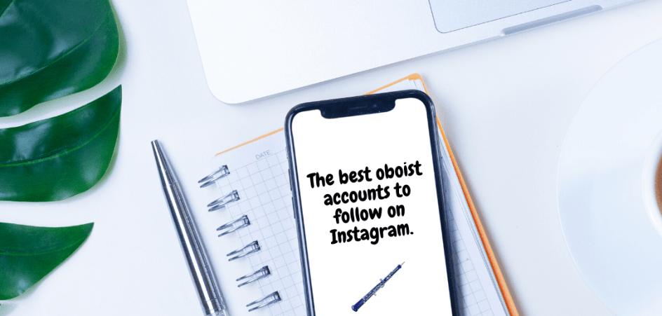best oboist account Instagram