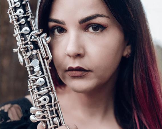 oboist of the month Maria Calvo