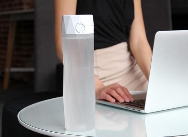 HidrataMe, una botella inteligente que te ayuda a hidratarte e