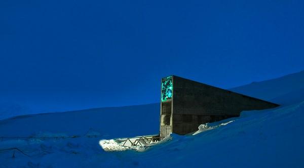 Svalbard Global Seed Vault b