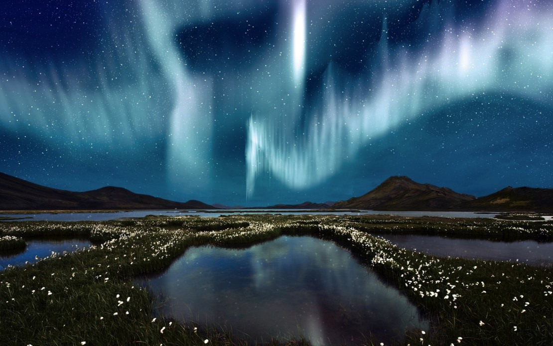 Aurora boreal aj