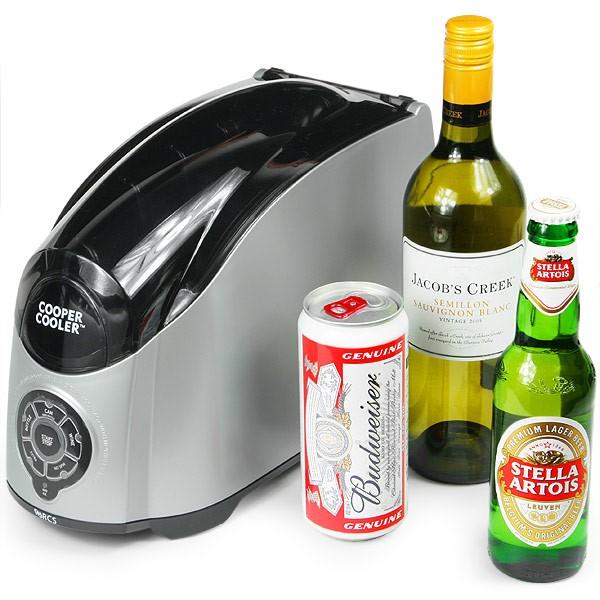 Cooper Cooler, el enfriador de bebidas más rápido del mercado