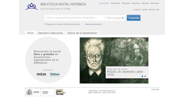 Biblioteca Digital Hispánica (Biblioteca Nacional de España) Descargar libros y eBooks gratis