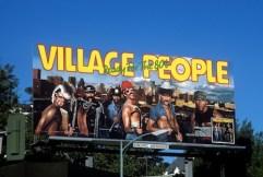 Village People Billboard on the Sunset Strip
