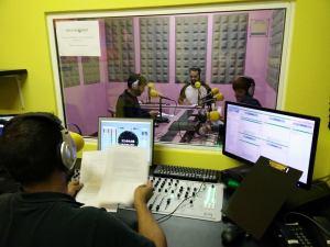 Estudios de CUAC FM