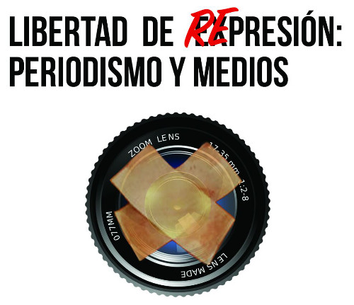 Cartel de la mesa redonda organizada en la Facultad de Ciencias de la Comunicación de Málaga.