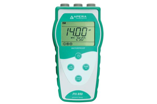 Medidor de pH portátil PH850 Apera