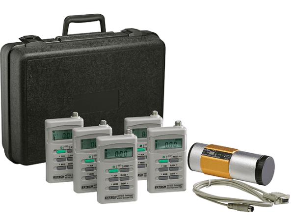 Kit de registrador de datos/dosímetro de ruidos