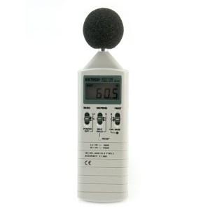 Medidor de nivel sonoro de rango dual