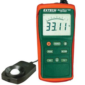 EA30: Fotómetro de amplio rango EasyView™ Mediciones de luz de alta intensidad hasta 40 000 Fc/400 000 Lux