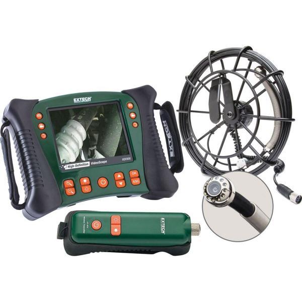 Kit de plomería inalámbrica con videoscopio HD