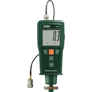 Medidor de vibraciones + tacómetro de contacto/láser