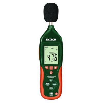 Medidor de nivel sonoro con registrador de datos