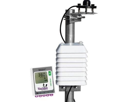 Monitoree las condiciones cruciales para el cultivo de plantas de alta calidad. Incluye 1000 estaciones Micro Station, sensor y protección contra la radiación