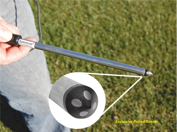 Medidor de conductividad para suelo 20 cm