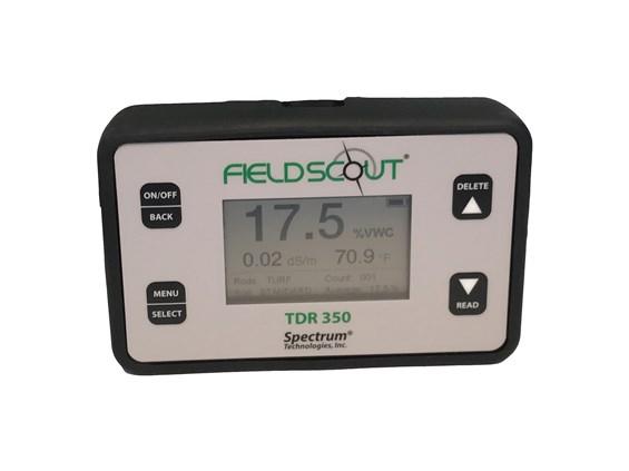Medidor de humedad y CE FieldScout