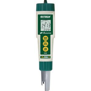 Medidor de conductividad/pH resistente al agua