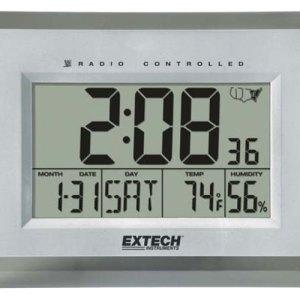 Reloj higrotermómetro con alarma
