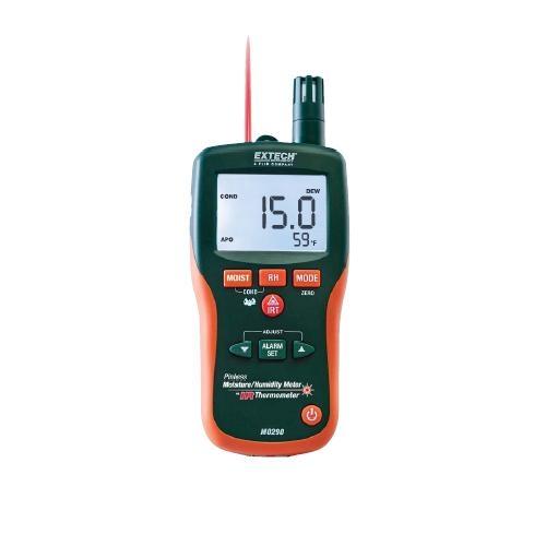 Higrosicrómetro sin clavija + infrarrojos