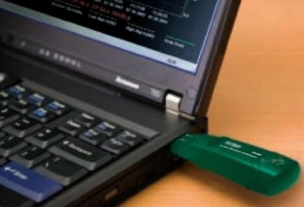 Registrador de datos USB G-Force de 3 ejes