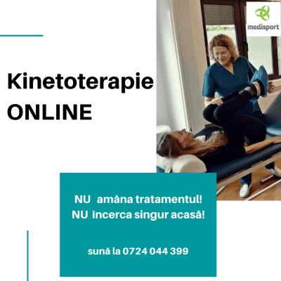 tratament kineto online