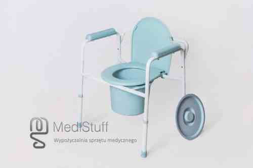 krzesło toaletowe dla niepełnosprawnych