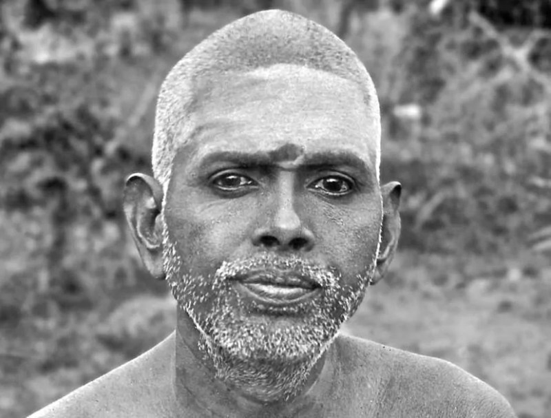 Ramana Maharshi en su juventud.
