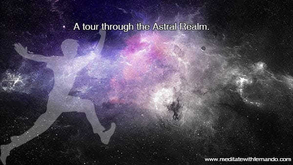 Touring the astral plane.